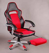 Офисное кресло FBG041, эко-кожа, функция поддержки ног, фото 2