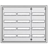Распределительный щит на 144 модулей ABB U43 в нишу