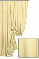 Ткань для штор софт   (велюр) №03 с желтый ,  Турция,  высота  2.8 м