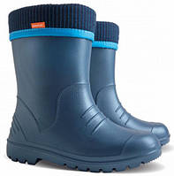 Резиновые сапожки из пены EVA Demar Dino р.22-35 синие