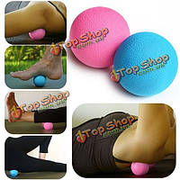 Yoga массажный шарик CrossFit массажер роликовый релаксации Acupoint терапия мышц