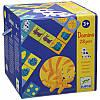 Игра Домино Цветные животные Djeco (DJ08111)