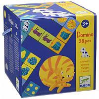 Игра Домино Цветные животные Djeco 08111
