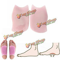Жира ноги ортопедических гель Стелька супинатор обуви вкладыш подушки обезболивание ортопедический Корректор