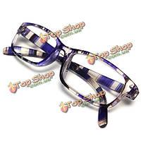 Фиолетовый смолы легкие дальнозоркостью усталость снимают очки для чтения прочности 1.0 1.5 2.0 2.5 3.0 3.5