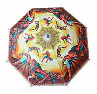 Зонт детский трость полуавтомат Spider man, фото 1