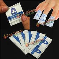 10шт экологической ногтей искусство УФ гель для снятия лака очиститель обертывания колодки