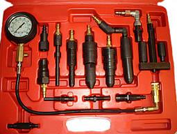 Компрессометр для дизельных двигателей с набором комплектующих Heshitools