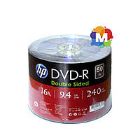 Hewlett-Packard (НР) DVD-R 9,4 GB 16x Double sided Bulk/50