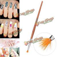 Профессиональные ногтей кисть гелевые ногти живопись графика маникюрные инструменты