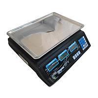 Торговые электронные весы Спартак 50 кг (40 кг) со счётчиком цены Код:332806171