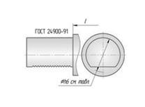 Патрони різьбонарізні з циліндричним хвостовиком по ГОСТ24000-91