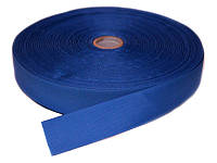 Репсовая лента, ширина 2,5 см, 1 м, цвет синий