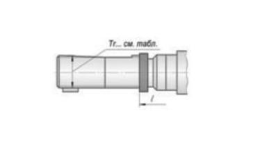 Патрони різьбонарізні з хвостовиком Tr (трапециидальным)