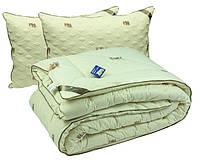 Набор зимнее шерстяное одеяло с подушками
