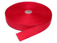 Репсовая лента, ширина 1,2 см, 1 м, цвет малиновый
