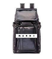 Кожаный мужской рюкзак от Marni – стильный must have аксессуар на каждый день