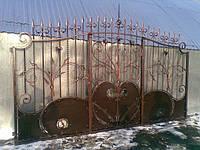 Кованные ворота 16700
