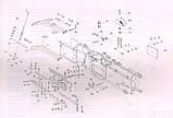 Полозья комплект на прес-підбирач Фортшрит К-454 ( направляющие поршня) 4330253316+, фото 4