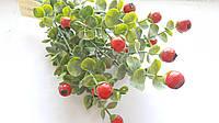 Веточками с Оранжевыми ягодками и листиками 1 шт