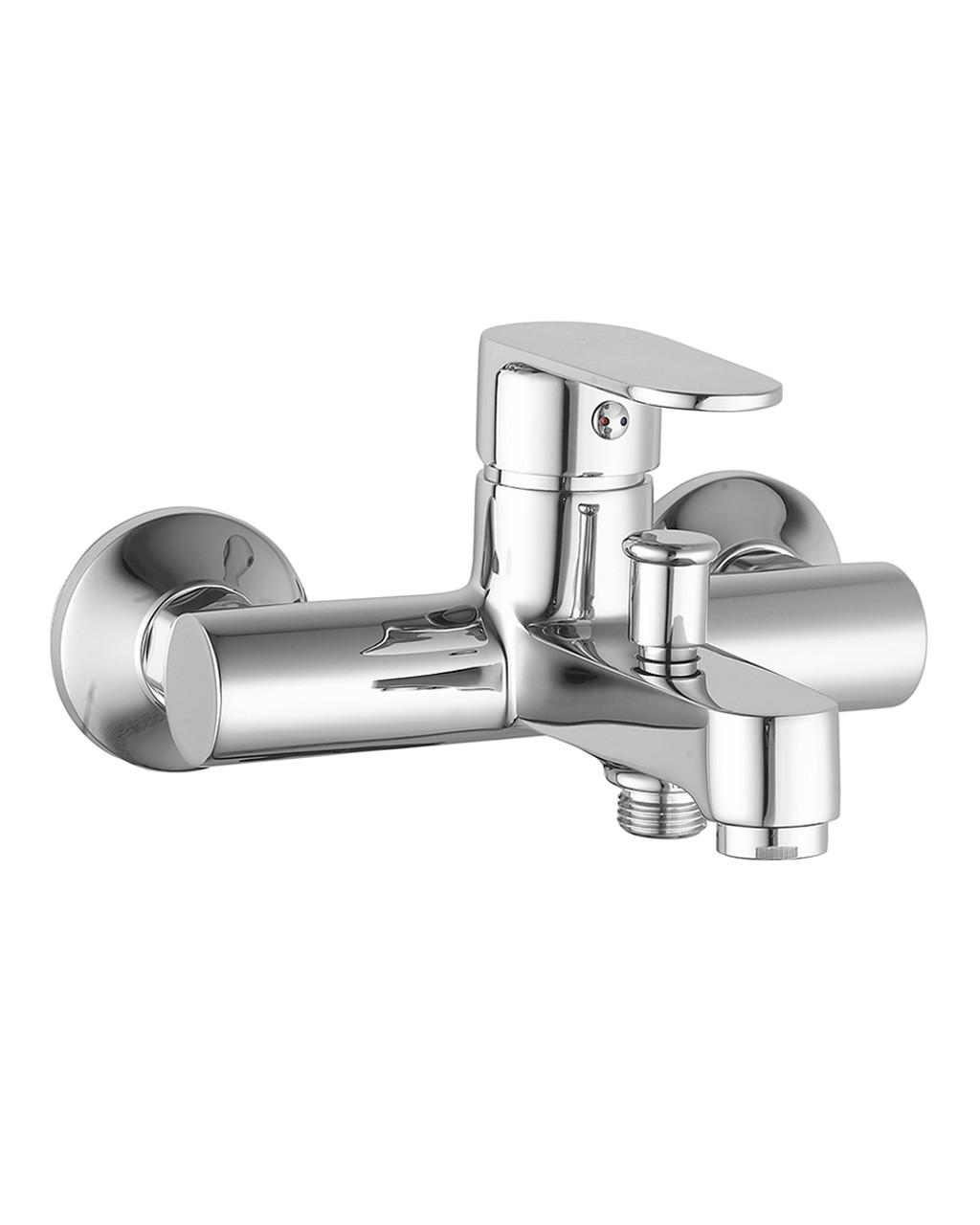 Смеситель для ванны, хром, 35 мм IMPRESE LESNA (10070)
