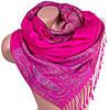 Красивый женский двусторонний палантин из пашмины 173 на 70 см ETERNO ES0206-2-1 розовый