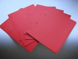 Прокладочный лист SCHULZ — красный, 10 штук