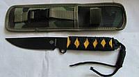 Нож метальный в камуфлированном чехле