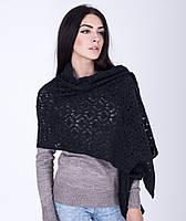 Оригинальная женская ажурная шаль