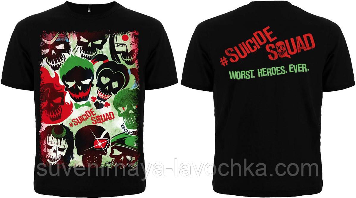Футболка Suicide Squad (Worst. Heroes. Ever.)