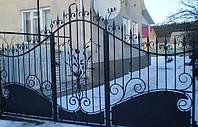Кованные ворота 175