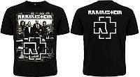 Футболка Rammstein (photo band with logo)