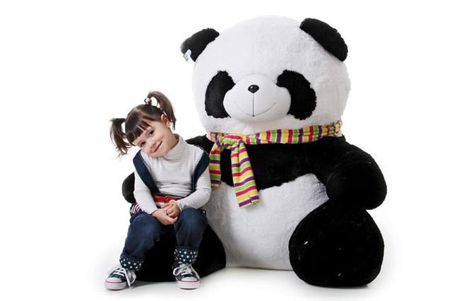 Панды большие плюшевые