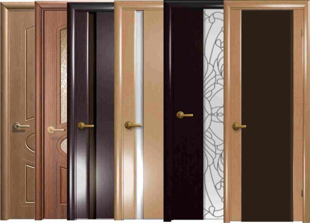 Двері, коробки, лиштви, дверна фурнітура