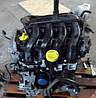 Двигатель Renault Clio Grandtour 1.6 16V, 2008-today тип мотора K4M 800, K4M 801