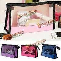 4 цвета многофункциональные путешествия косметический мешок макияж кейс для хранения стирка организатор сумка