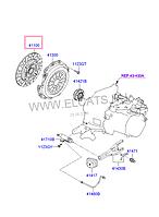 Диск сцепления на Hyundai Tucson.Код:41100-26100