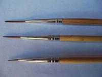 Набор для росписи ногтей лайнер (страйпер)3 шт Kolinsky
