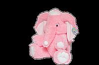 Слон мягкий большой плюшевый розовый 65 см,большие мягкие игрушки