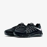 Кроссовки мужские Nike Air Max 2015 D733 черные