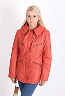 Красивая курточка кораллового цвета, фото 1
