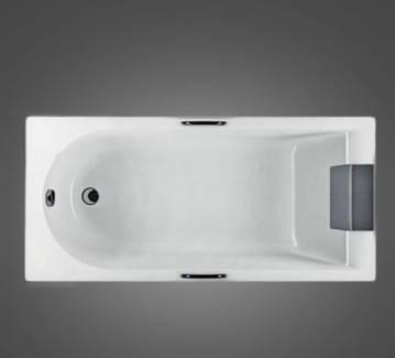 Ванна прямоугольная 160*75 см, с ножками и элементами крепления ДЫМЕР MIRRA (XWP3360000), фото 2