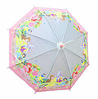 """Зонт детский для девочки """"Принцессы"""", фото 1"""