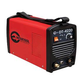 Инвертор cварочный для аргоно-дуговой сварки 230 В, 4.5 кВт, 10-200 А, Intertool DT- 4220