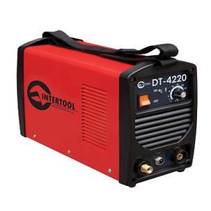 Инвертор cварочный для аргоно-дуговой сварки 230 В, 4.5 кВт, 10-200 А, Intertool DT- 4220, фото 2