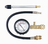 Компрессометр для бензиновых двигателей с набором комплектующих Force