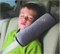 Подушка на ремень безопасности - для комфортных путешествий