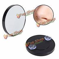 10x увеличительное зеркало для ванной присоски компактные стеклянные косметика портативный путешествия инструмент для макияжа
