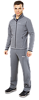 Спортивный костюм с начесом F50 - K-04204 светло-серый