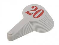 Набор цифр от 1 до 20 (веер) ZB.4900